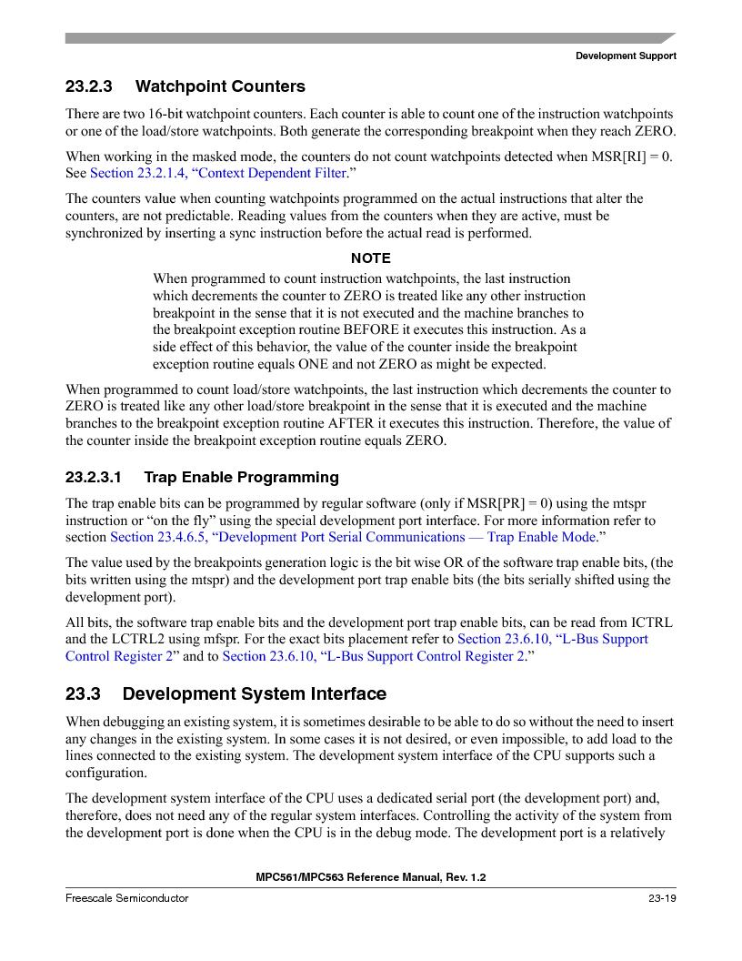 MPC561MZP56R2 ,Freescale Semiconductor厂商,IC MPU 32BIT 56MHZ 388-PBGA, MPC561MZP56R2 datasheet预览  第933页