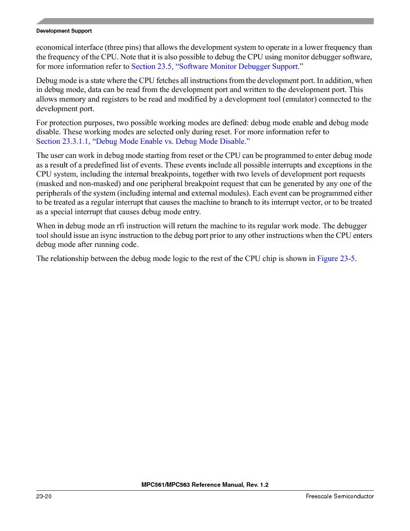 MPC561MZP56R2 ,Freescale Semiconductor厂商,IC MPU 32BIT 56MHZ 388-PBGA, MPC561MZP56R2 datasheet预览  第934页