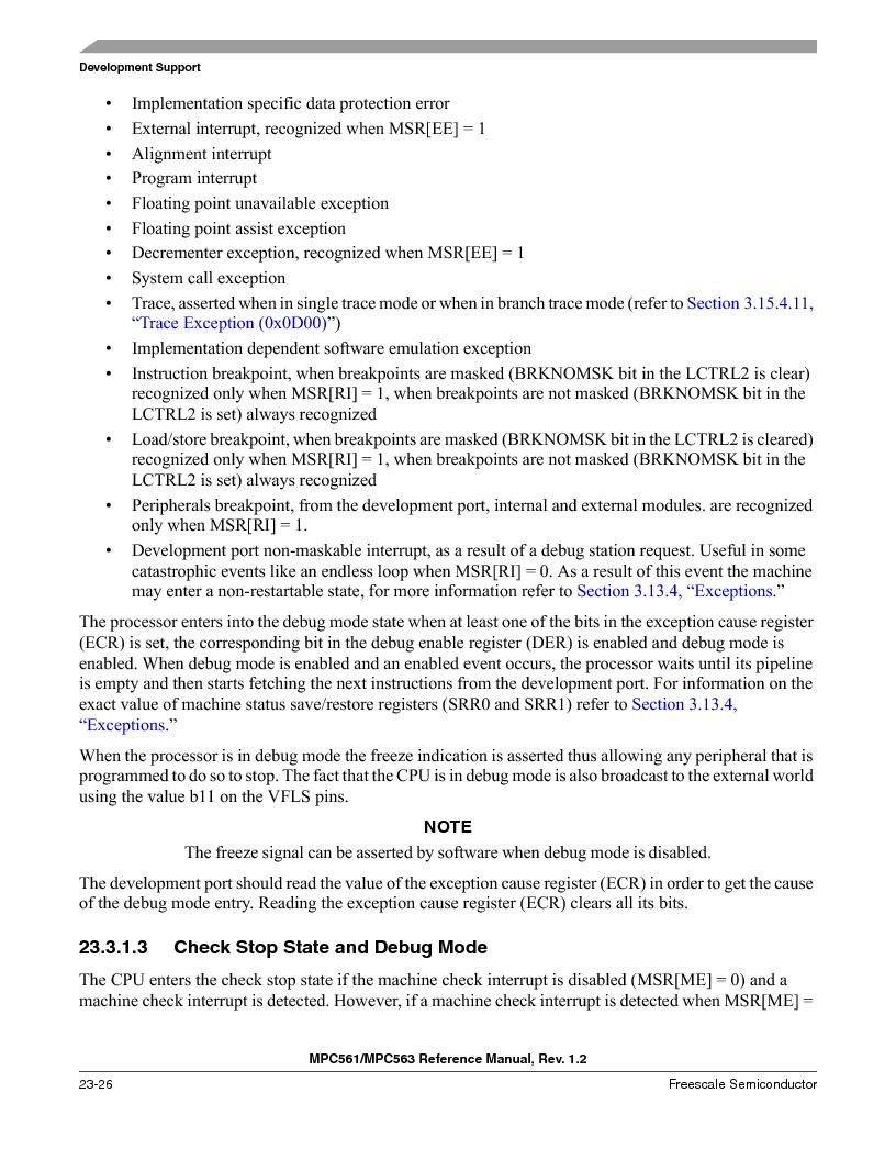 MPC561MZP56R2 ,Freescale Semiconductor厂商,IC MPU 32BIT 56MHZ 388-PBGA, MPC561MZP56R2 datasheet预览  第940页