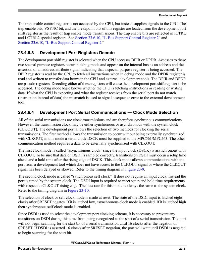 MPC561MZP56R2 ,Freescale Semiconductor厂商,IC MPU 32BIT 56MHZ 388-PBGA, MPC561MZP56R2 datasheet预览  第945页