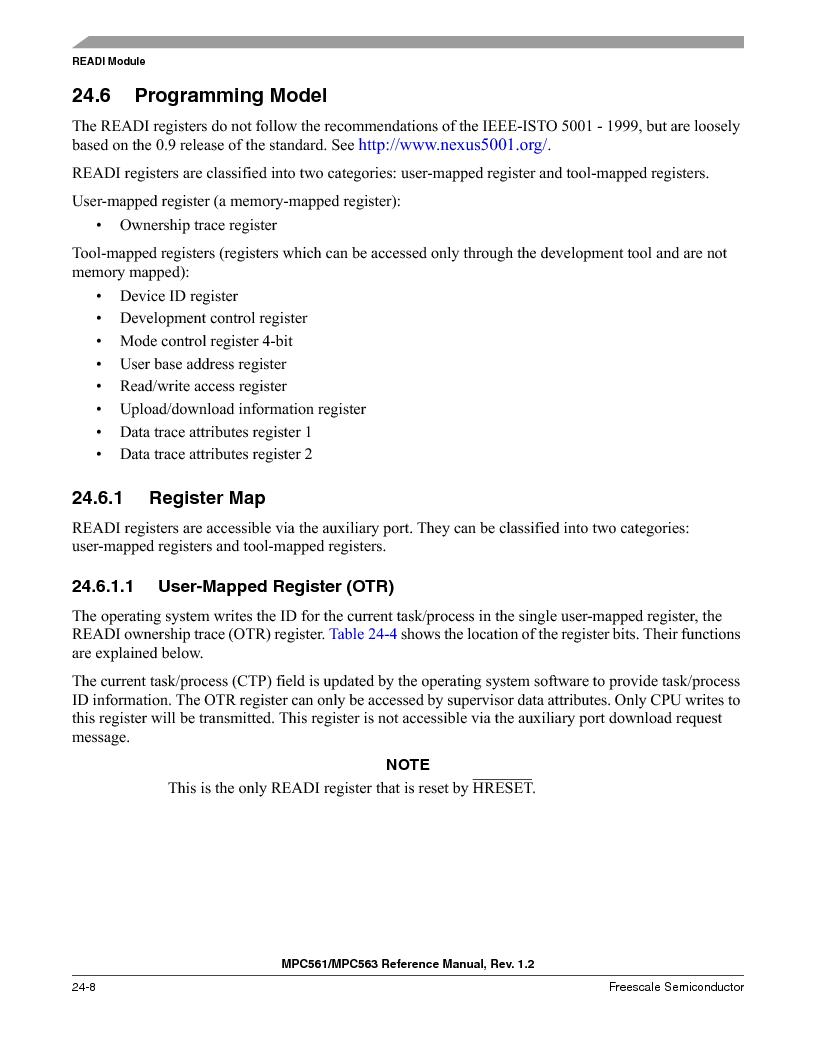 MPC561MZP56R2 ,Freescale Semiconductor厂商,IC MPU 32BIT 56MHZ 388-PBGA, MPC561MZP56R2 datasheet预览  第976页