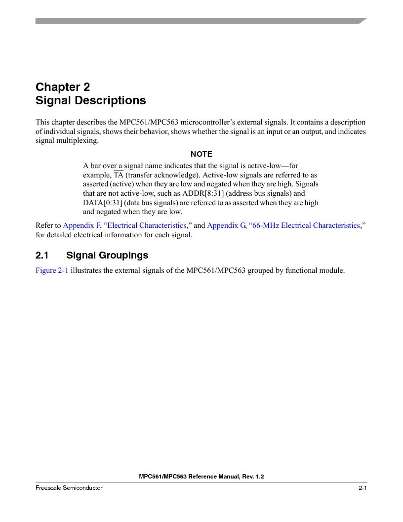 MPC561MZP56R2 ,Freescale Semiconductor厂商,IC MPU 32BIT 56MHZ 388-PBGA, MPC561MZP56R2 datasheet预览  第99页