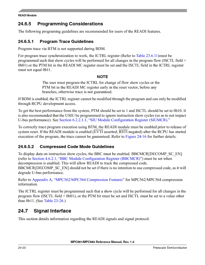 MPC561MZP56R2 ,Freescale Semiconductor厂商,IC MPU 32BIT 56MHZ 388-PBGA, MPC561MZP56R2 datasheet预览  第988页