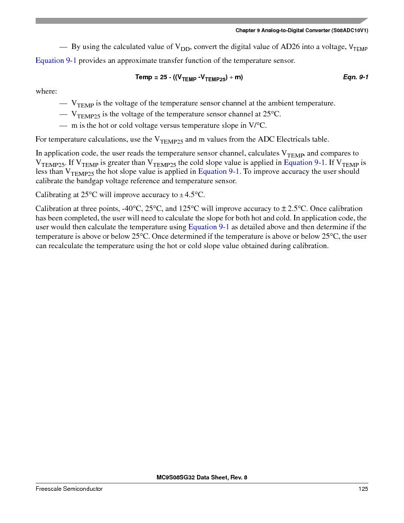 S9S08SG16E1WTL ,Freescale Semiconductor厂商,IC MCU 8BIT 16KB FLASH 28TSSOP, S9S08SG16E1WTL datasheet预览  第131页