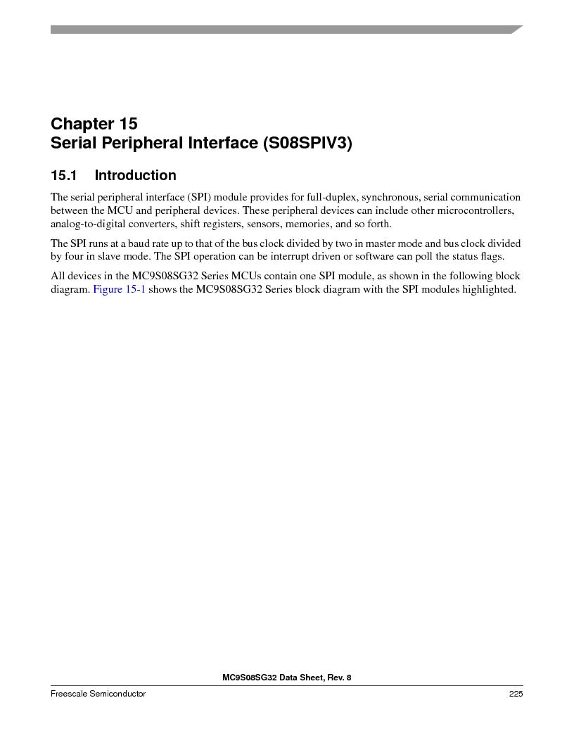 S9S08SG16E1WTL ,Freescale Semiconductor厂商,IC MCU 8BIT 16KB FLASH 28TSSOP, S9S08SG16E1WTL datasheet预览  第231页