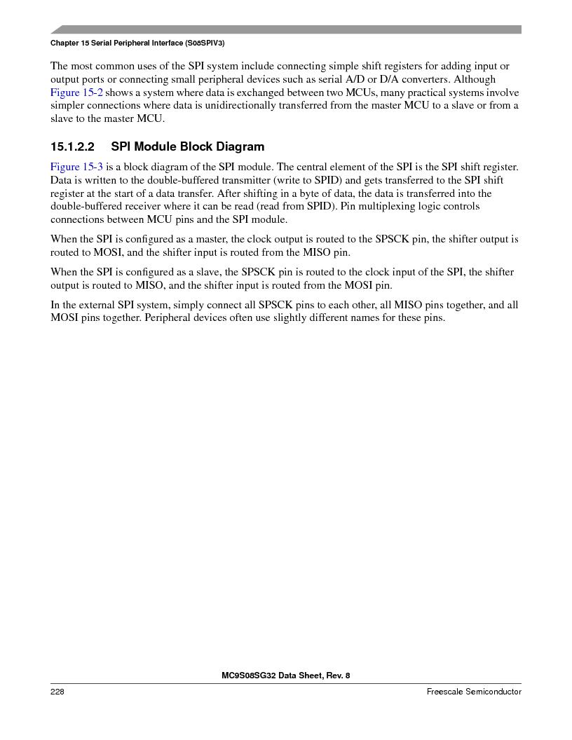 S9S08SG16E1WTL ,Freescale Semiconductor厂商,IC MCU 8BIT 16KB FLASH 28TSSOP, S9S08SG16E1WTL datasheet预览  第234页