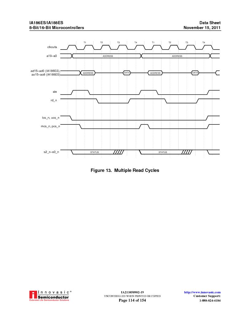 IA188ES-PTQ100I-R-03 ,Innovasic Semiconductor厂商,IC MCU 8/16BIT 40MHZ 100TQFP, IA188ES-PTQ100I-R-03 datasheet预览  第114页