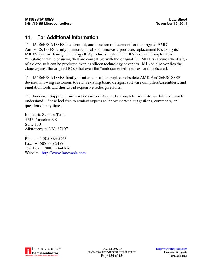 IA188ES-PTQ100I-R-03 ,Innovasic Semiconductor厂商,IC MCU 8/16BIT 40MHZ 100TQFP, IA188ES-PTQ100I-R-03 datasheet预览  第154页