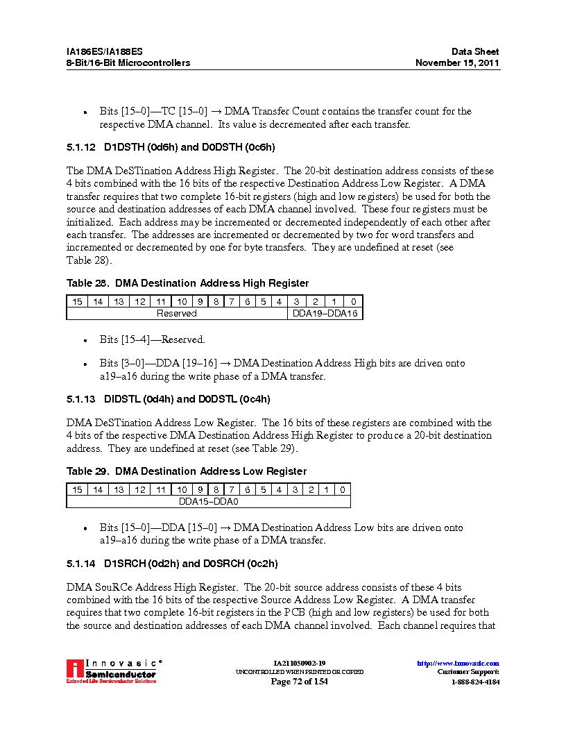 IA188ES-PTQ100I-R-03 ,Innovasic Semiconductor厂商,IC MCU 8/16BIT 40MHZ 100TQFP, IA188ES-PTQ100I-R-03 datasheet预览  第72页