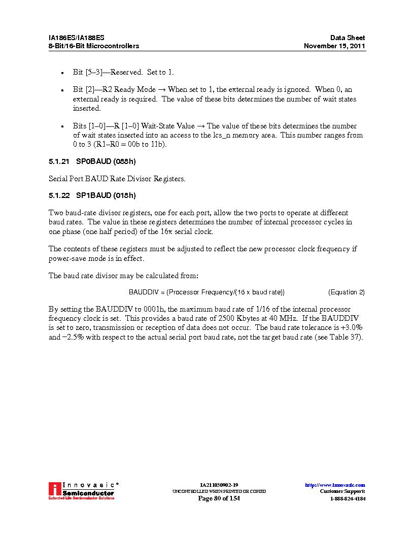 IA188ES-PTQ100I-R-03 ,Innovasic Semiconductor厂商,IC MCU 8/16BIT 40MHZ 100TQFP, IA188ES-PTQ100I-R-03 datasheet预览  第80页