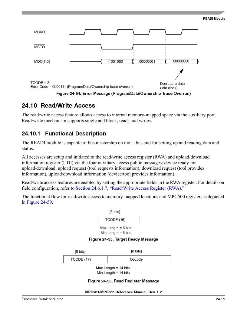 MPC563MZP56 ,Freescale Semiconductor厂商,IC MCU 512K FLASH 56MHZ 388-BGA, MPC563MZP56 datasheet预览  第1027页