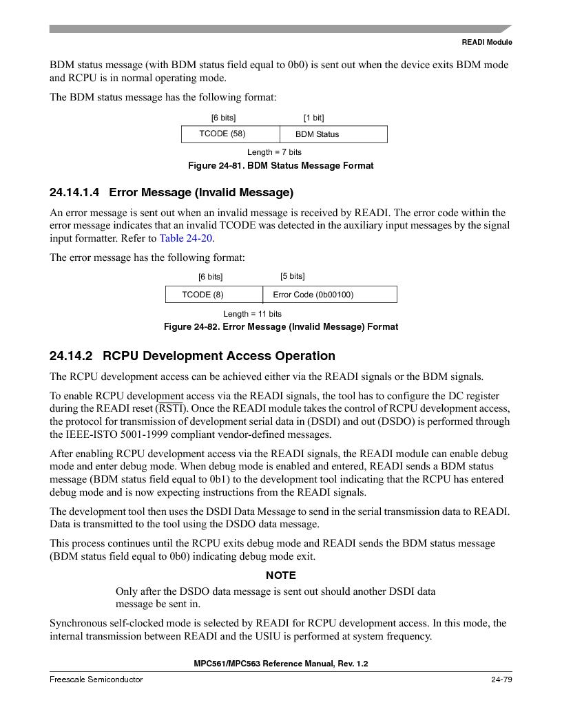 MPC563MZP56 ,Freescale Semiconductor厂商,IC MCU 512K FLASH 56MHZ 388-BGA, MPC563MZP56 datasheet预览  第1047页