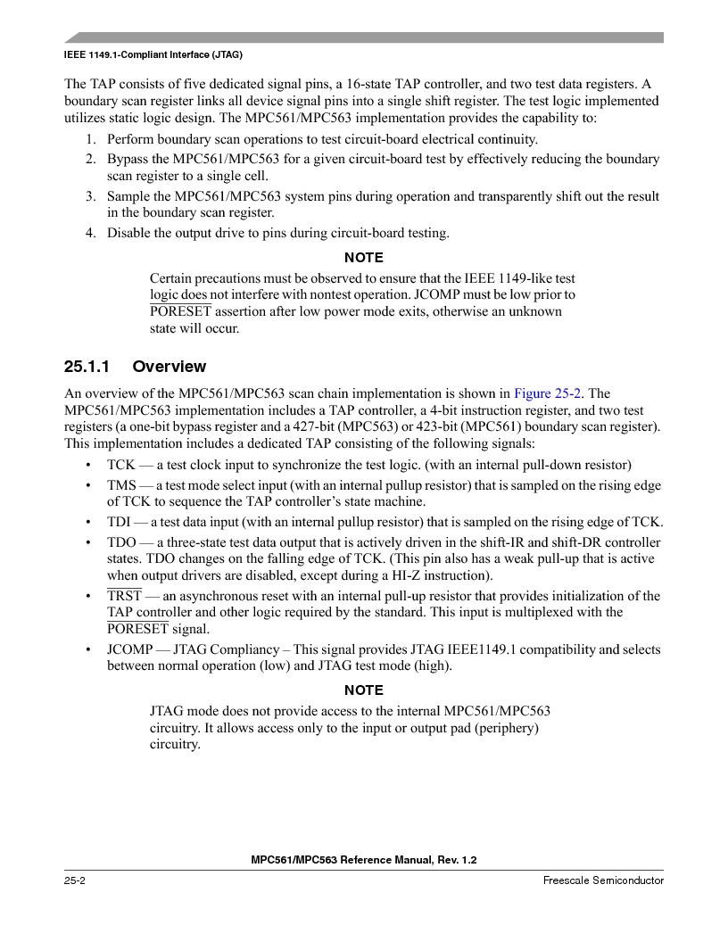 MPC563MZP56 ,Freescale Semiconductor厂商,IC MCU 512K FLASH 56MHZ 388-BGA, MPC563MZP56 datasheet预览  第1056页