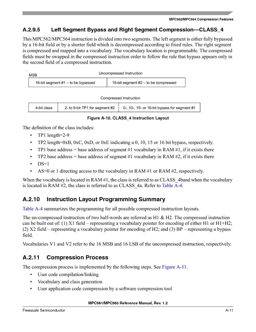 MPC563MZP56 ,Freescale Semiconductor厂商,IC MCU 512K FLASH 56MHZ 388-BGA, MPC563MZP56 datasheet预览  第1099页
