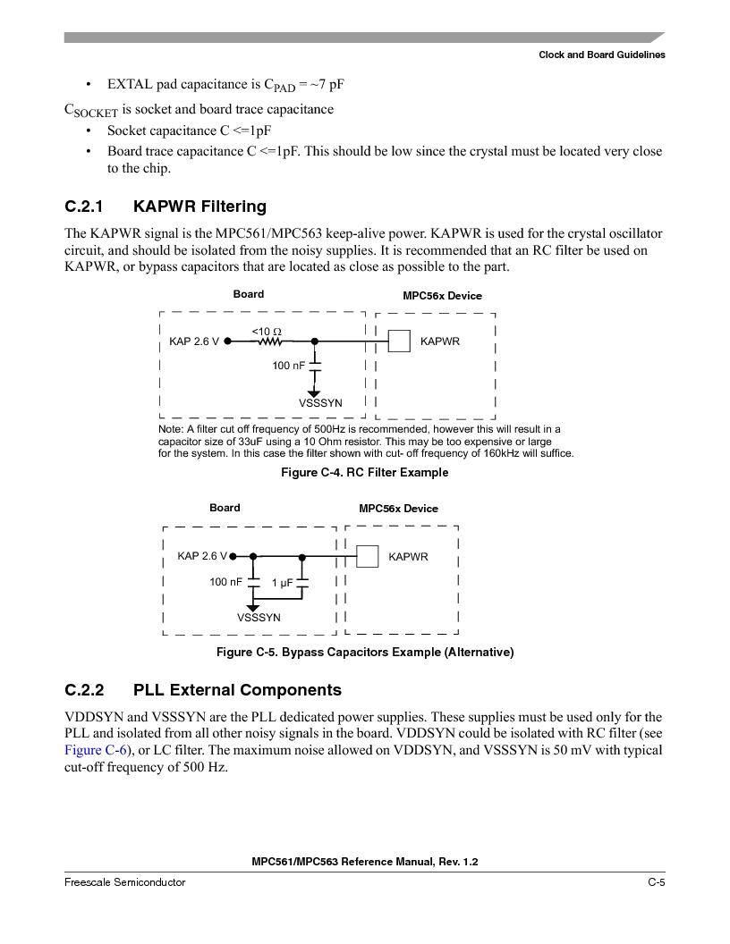 MPC563MZP56 ,Freescale Semiconductor厂商,IC MCU 512K FLASH 56MHZ 388-BGA, MPC563MZP56 datasheet预览  第1149页
