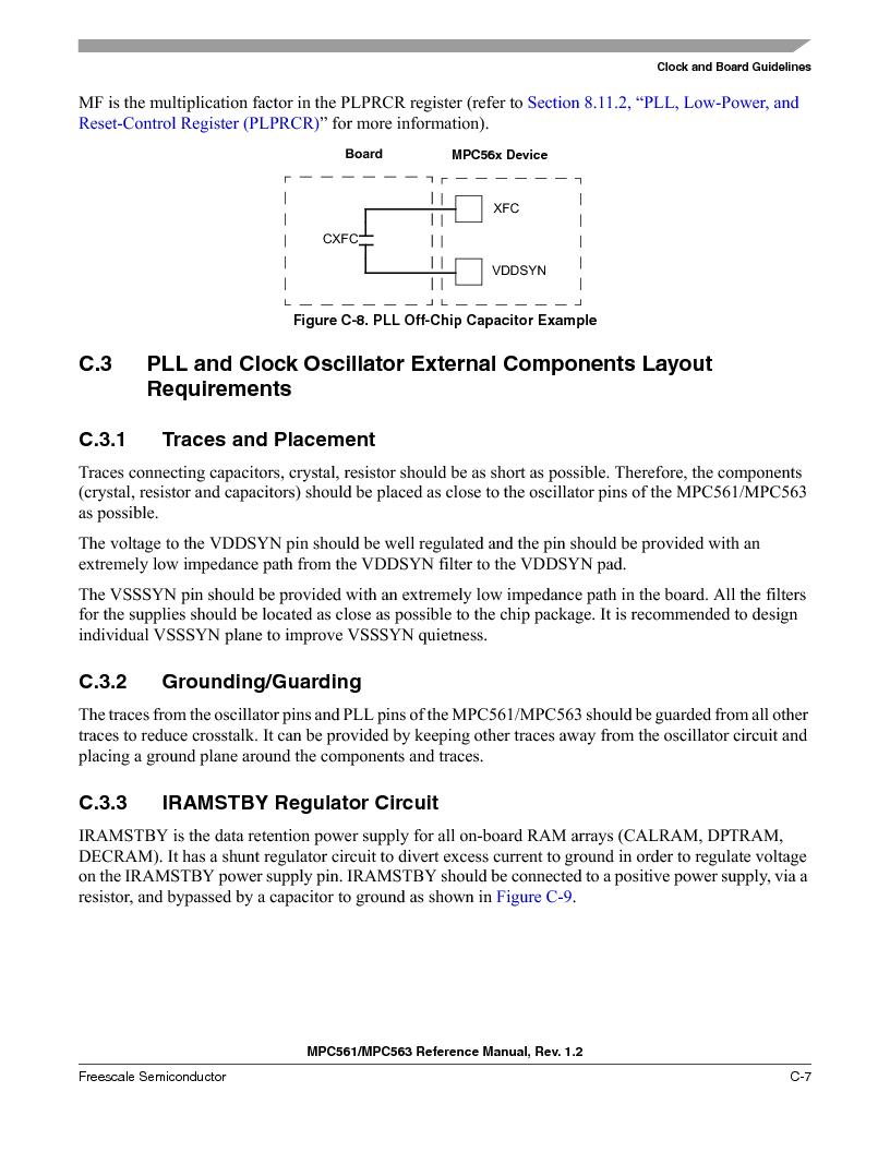 MPC563MZP56 ,Freescale Semiconductor厂商,IC MCU 512K FLASH 56MHZ 388-BGA, MPC563MZP56 datasheet预览  第1151页