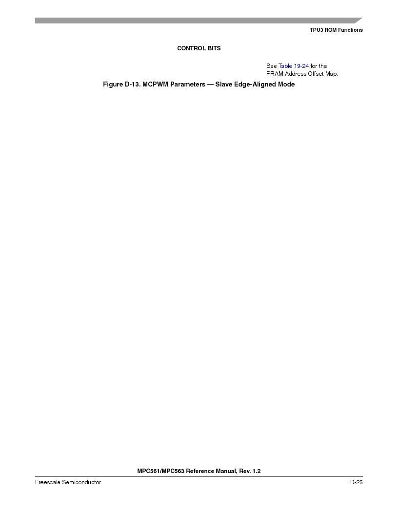 MPC563MZP56 ,Freescale Semiconductor厂商,IC MCU 512K FLASH 56MHZ 388-BGA, MPC563MZP56 datasheet预览  第1177页