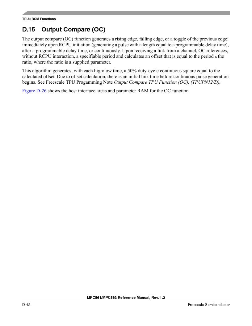 MPC563MZP56 ,Freescale Semiconductor厂商,IC MCU 512K FLASH 56MHZ 388-BGA, MPC563MZP56 datasheet预览  第1194页