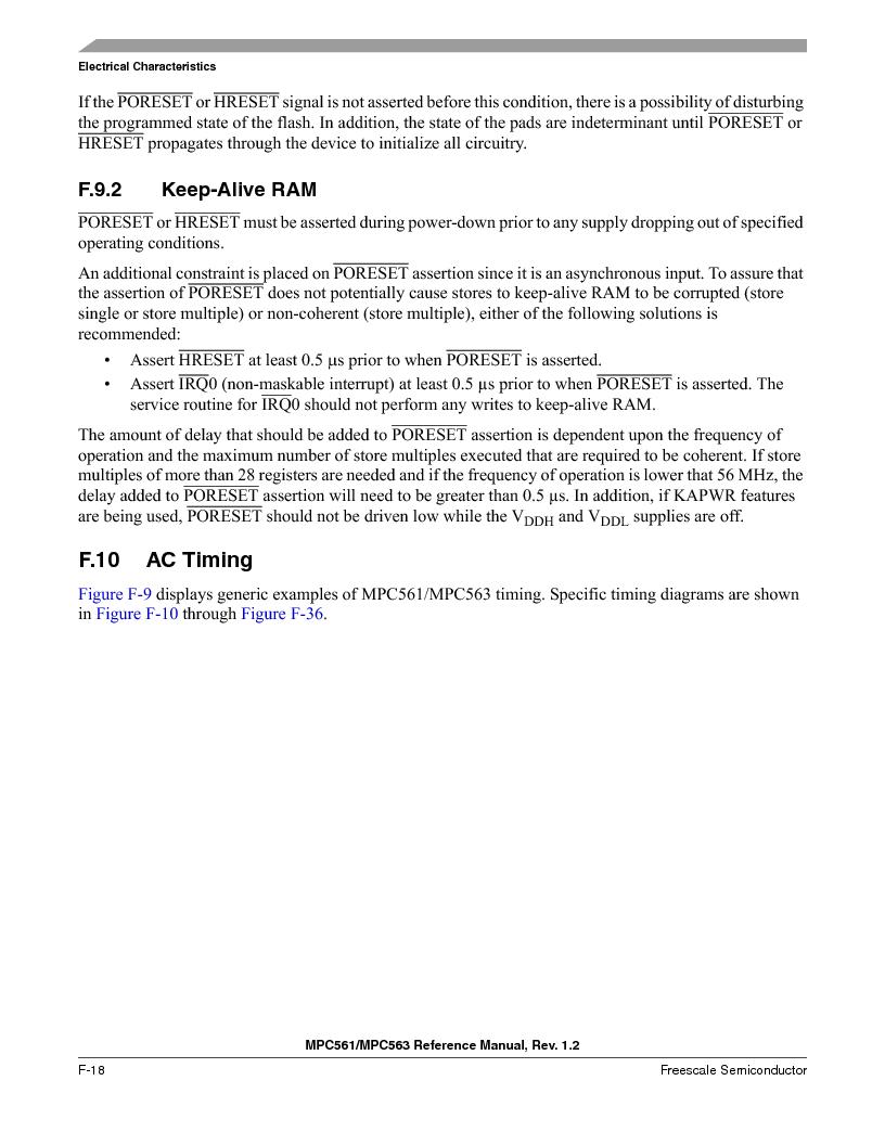 MPC563MZP56 ,Freescale Semiconductor厂商,IC MCU 512K FLASH 56MHZ 388-BGA, MPC563MZP56 datasheet预览  第1234页