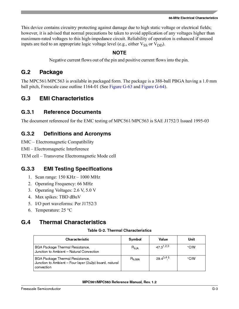 MPC563MZP56 ,Freescale Semiconductor厂商,IC MCU 512K FLASH 56MHZ 388-BGA, MPC563MZP56 datasheet预览  第1309页