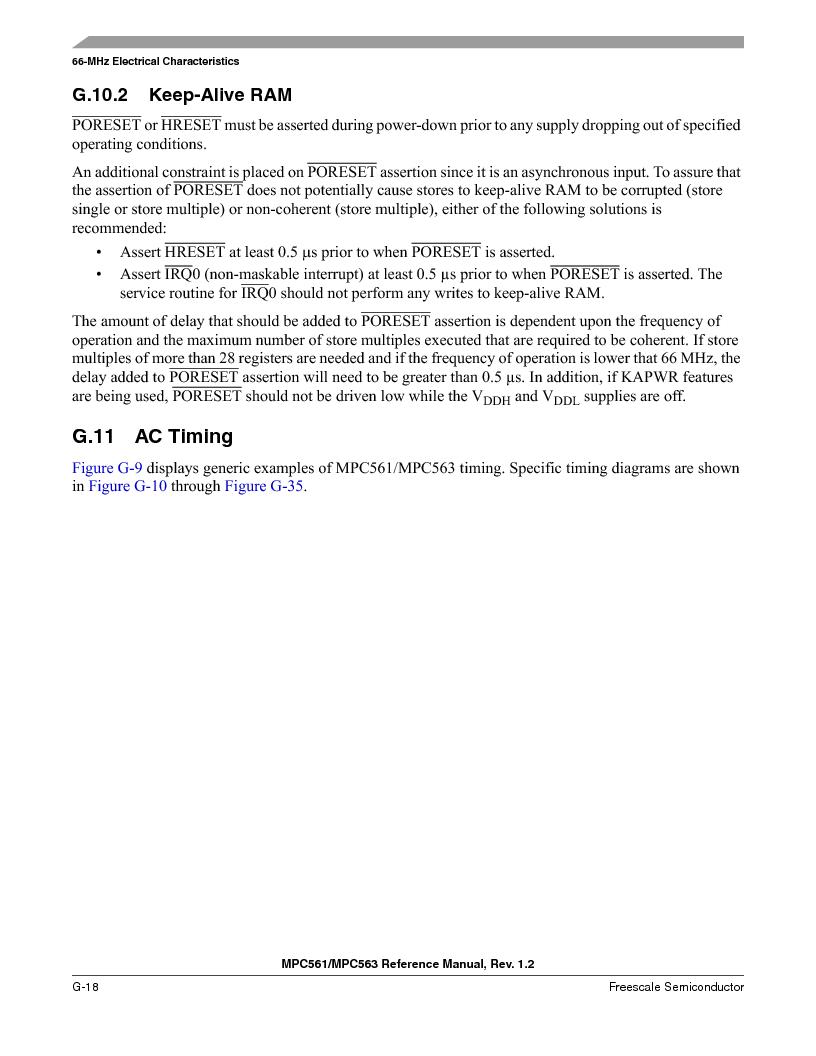 MPC563MZP56 ,Freescale Semiconductor厂商,IC MCU 512K FLASH 56MHZ 388-BGA, MPC563MZP56 datasheet预览  第1324页