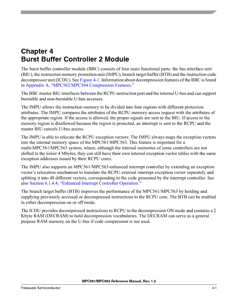 MPC563MZP56 ,Freescale Semiconductor厂商,IC MCU 512K FLASH 56MHZ 388-BGA, MPC563MZP56 datasheet预览  第207页