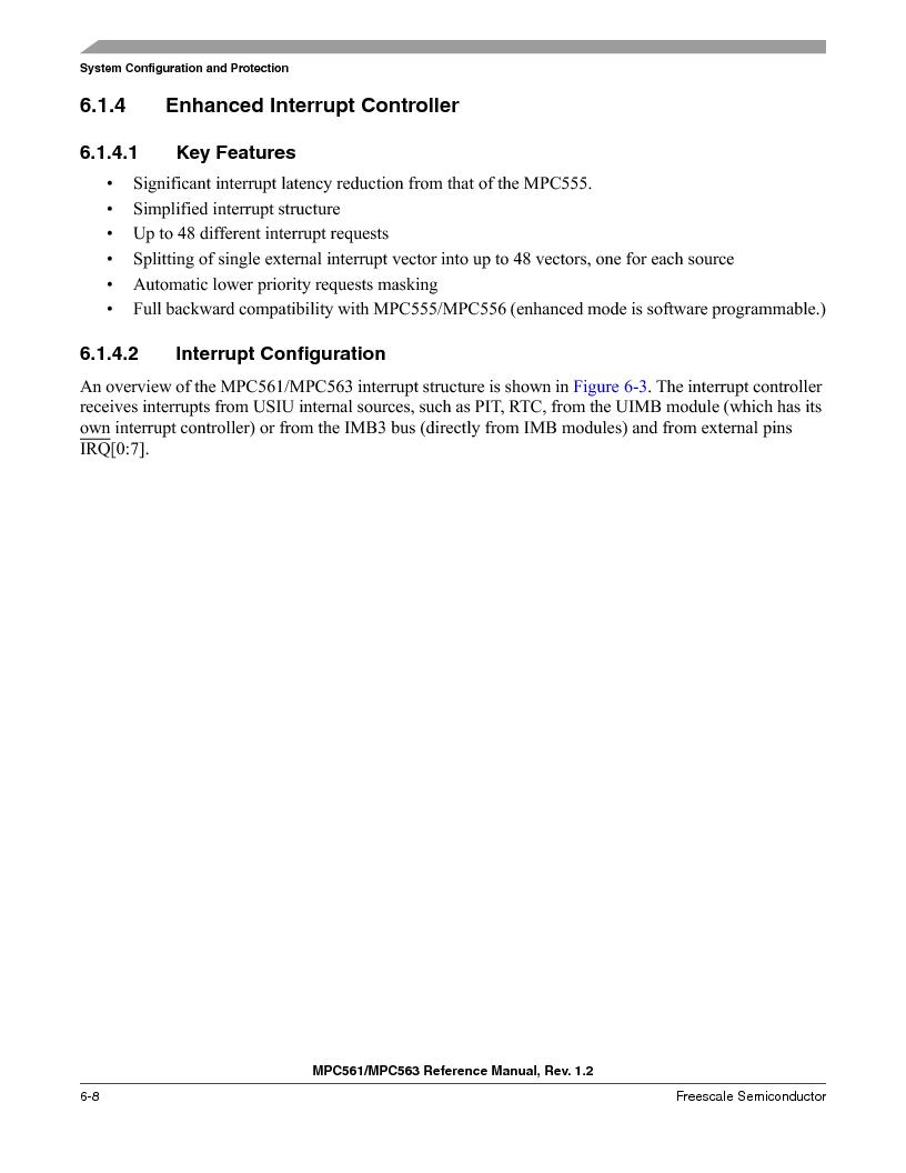 MPC563MZP56 ,Freescale Semiconductor厂商,IC MCU 512K FLASH 56MHZ 388-BGA, MPC563MZP56 datasheet预览  第248页