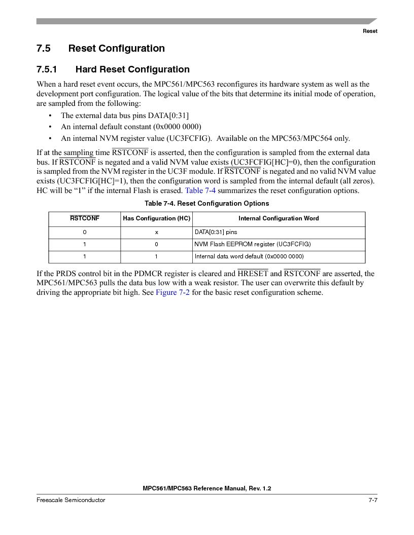MPC563MZP56 ,Freescale Semiconductor厂商,IC MCU 512K FLASH 56MHZ 388-BGA, MPC563MZP56 datasheet预览  第295页
