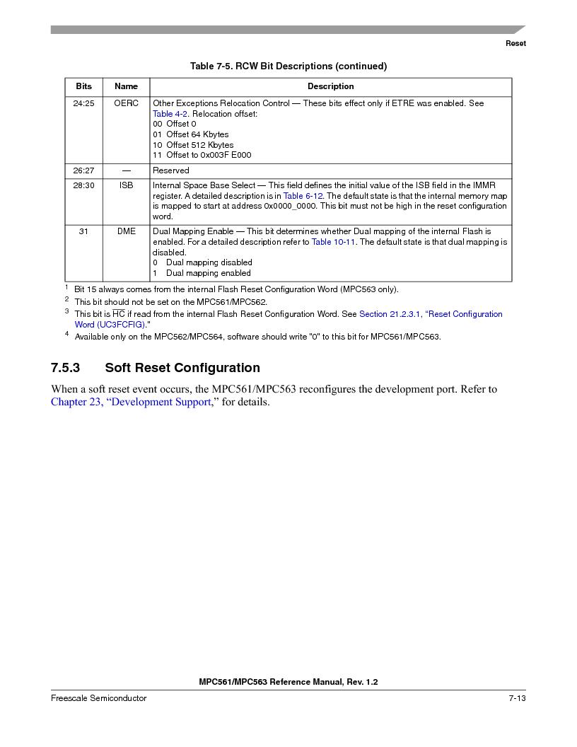 MPC563MZP56 ,Freescale Semiconductor厂商,IC MCU 512K FLASH 56MHZ 388-BGA, MPC563MZP56 datasheet预览  第301页