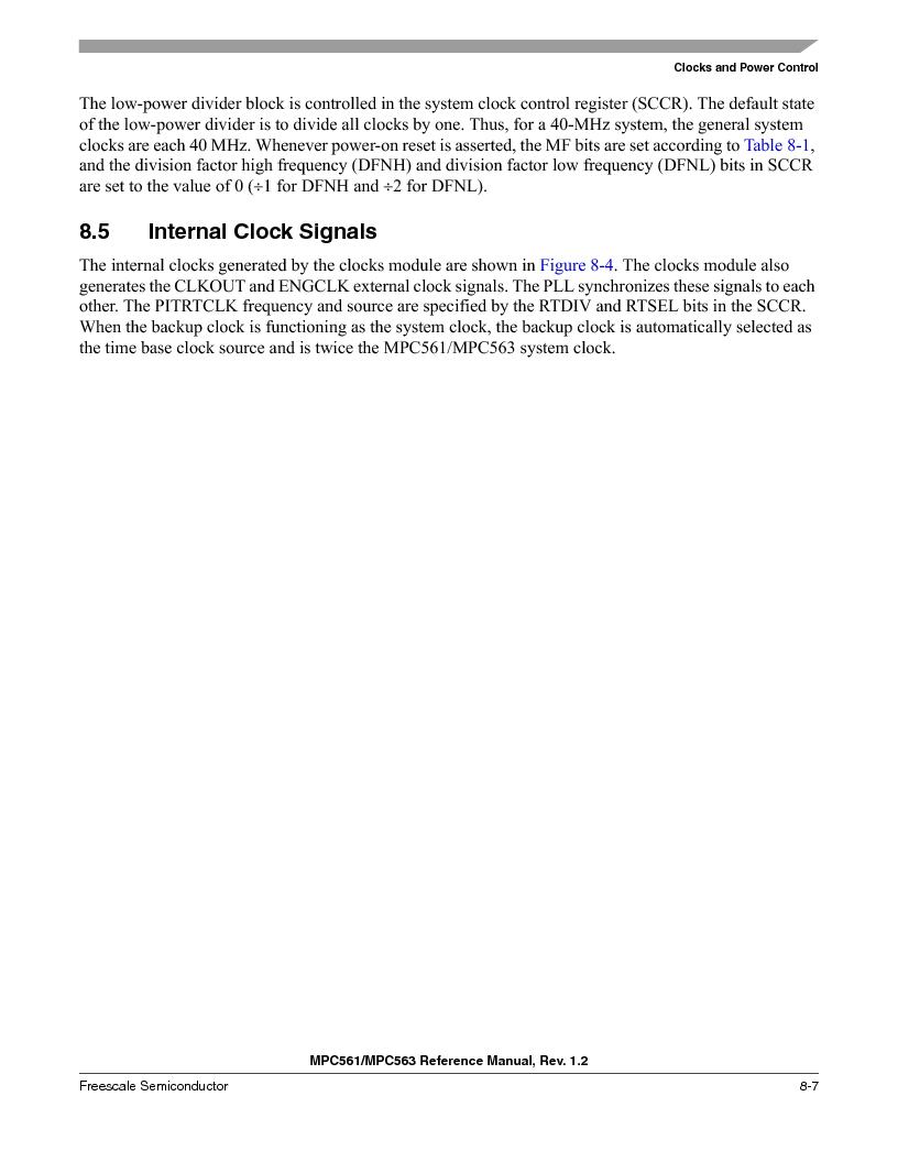 MPC563MZP56 ,Freescale Semiconductor厂商,IC MCU 512K FLASH 56MHZ 388-BGA, MPC563MZP56 datasheet预览  第309页