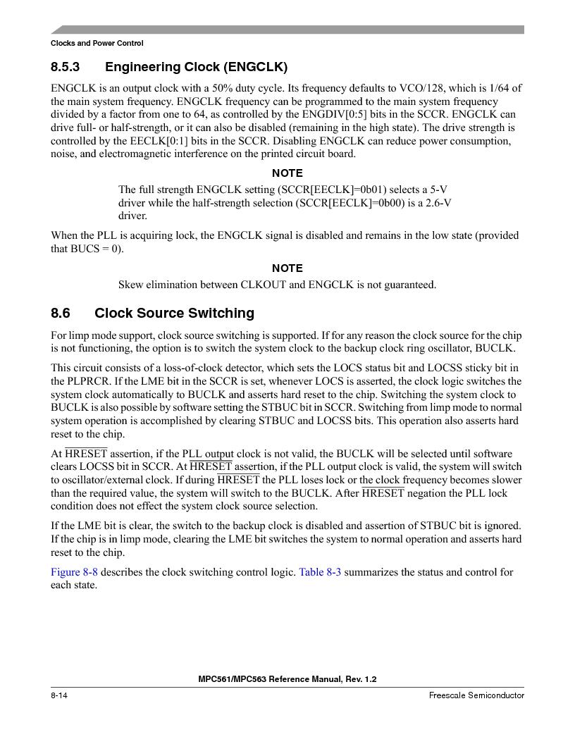 MPC563MZP56 ,Freescale Semiconductor厂商,IC MCU 512K FLASH 56MHZ 388-BGA, MPC563MZP56 datasheet预览  第316页