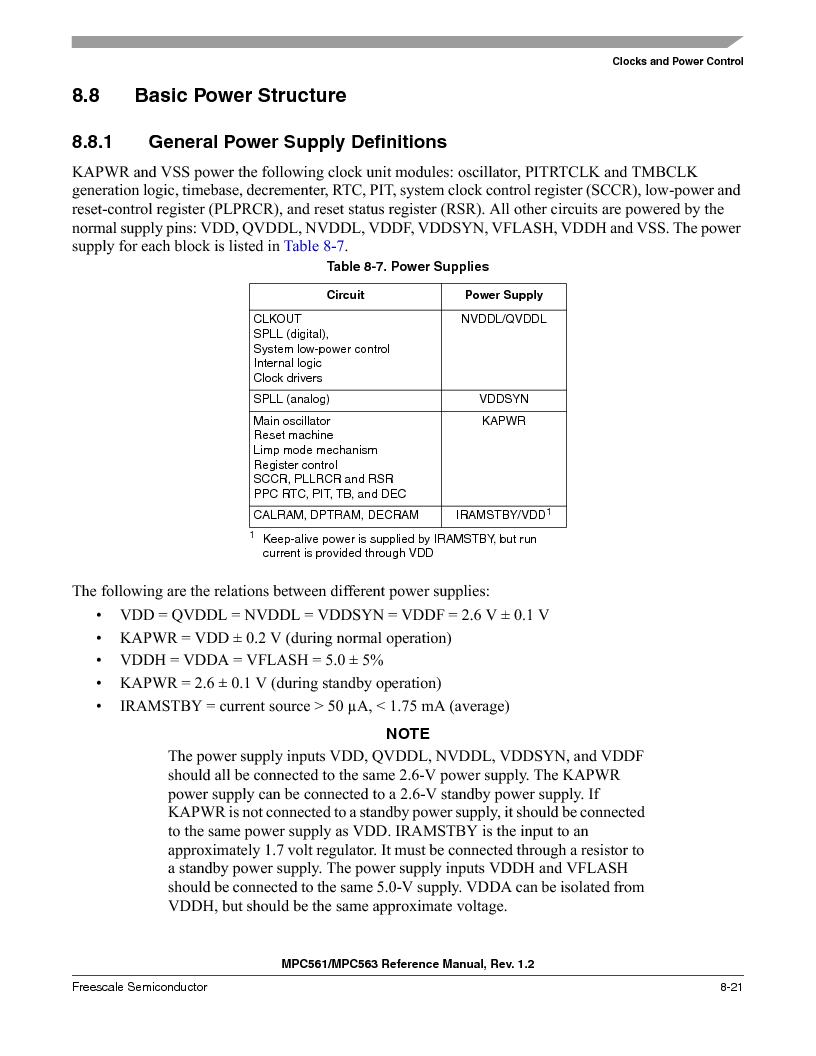MPC563MZP56 ,Freescale Semiconductor厂商,IC MCU 512K FLASH 56MHZ 388-BGA, MPC563MZP56 datasheet预览  第323页