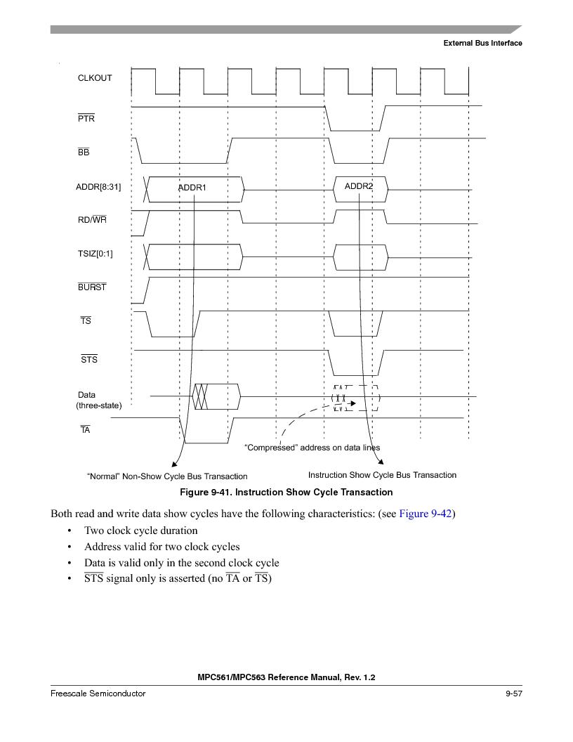 MPC563MZP56 ,Freescale Semiconductor厂商,IC MCU 512K FLASH 56MHZ 388-BGA, MPC563MZP56 datasheet预览  第397页