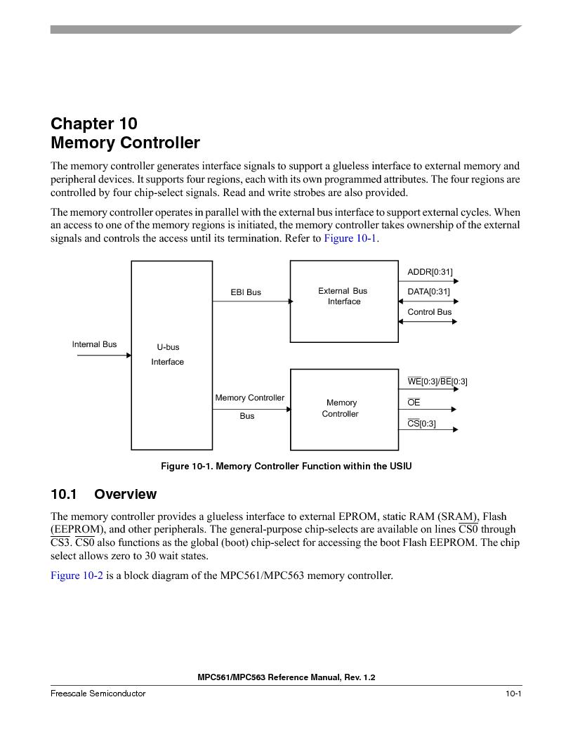 MPC563MZP56 ,Freescale Semiconductor厂商,IC MCU 512K FLASH 56MHZ 388-BGA, MPC563MZP56 datasheet预览  第399页