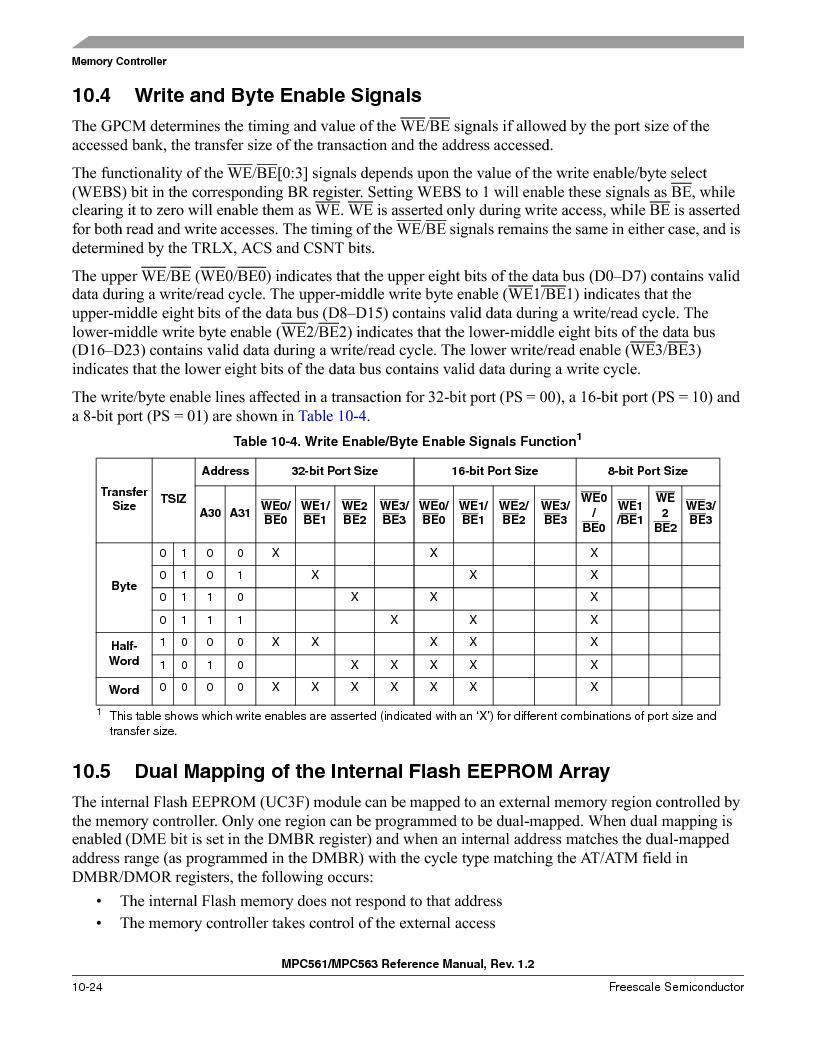MPC563MZP56 ,Freescale Semiconductor厂商,IC MCU 512K FLASH 56MHZ 388-BGA, MPC563MZP56 datasheet预览  第422页