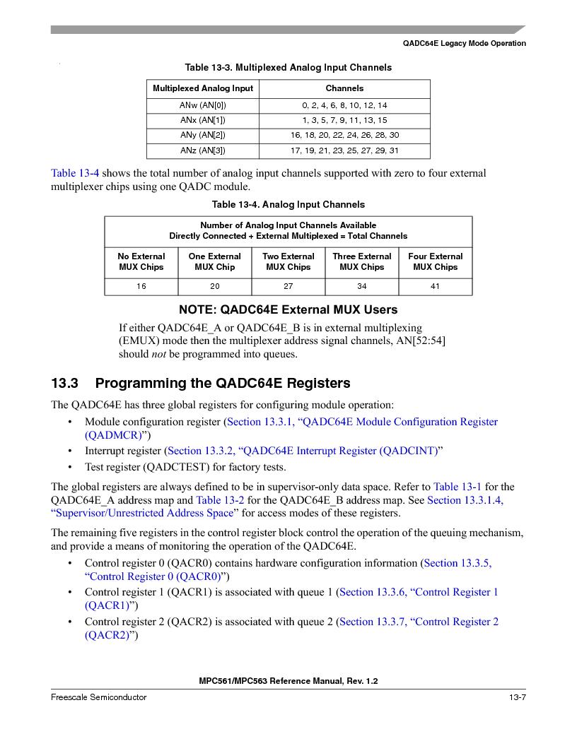 MPC563MZP56 ,Freescale Semiconductor厂商,IC MCU 512K FLASH 56MHZ 388-BGA, MPC563MZP56 datasheet预览  第471页