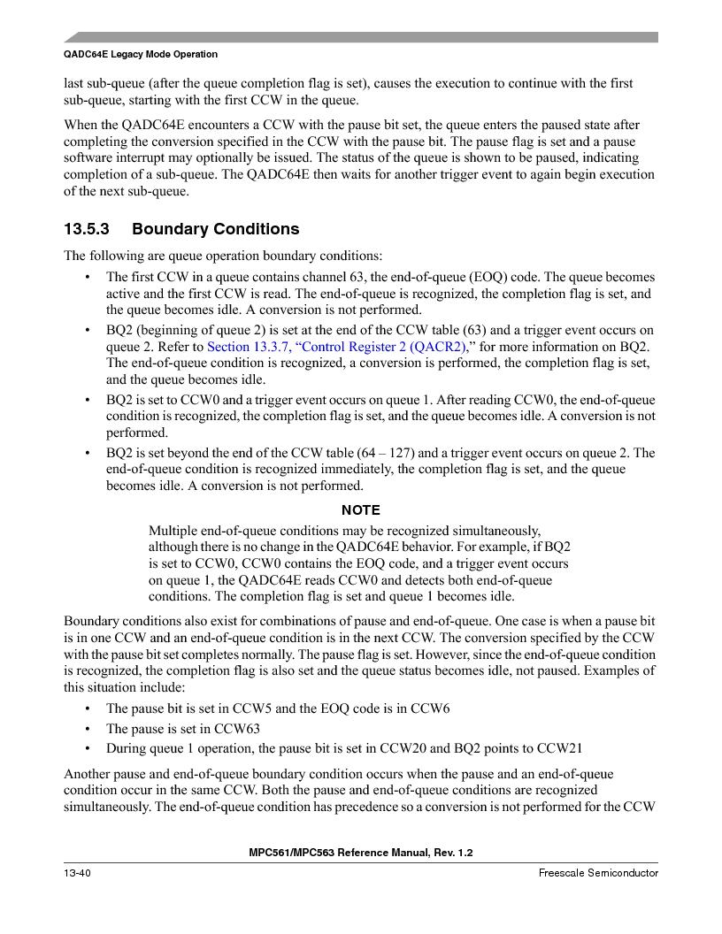 MPC563MZP56 ,Freescale Semiconductor厂商,IC MCU 512K FLASH 56MHZ 388-BGA, MPC563MZP56 datasheet预览  第504页