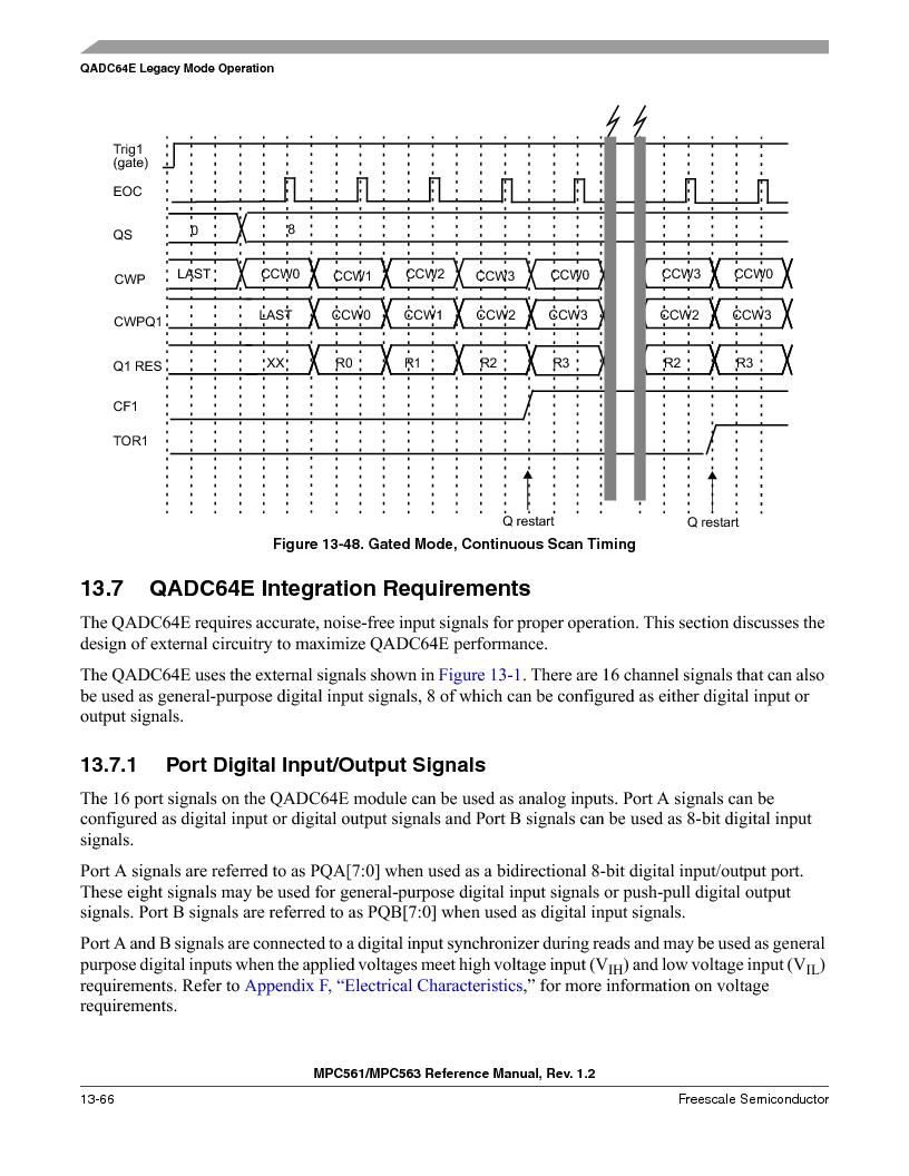 MPC563MZP56 ,Freescale Semiconductor厂商,IC MCU 512K FLASH 56MHZ 388-BGA, MPC563MZP56 datasheet预览  第530页