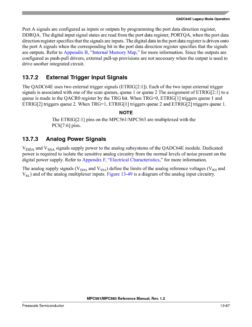 MPC563MZP56 ,Freescale Semiconductor厂商,IC MCU 512K FLASH 56MHZ 388-BGA, MPC563MZP56 datasheet预览  第531页