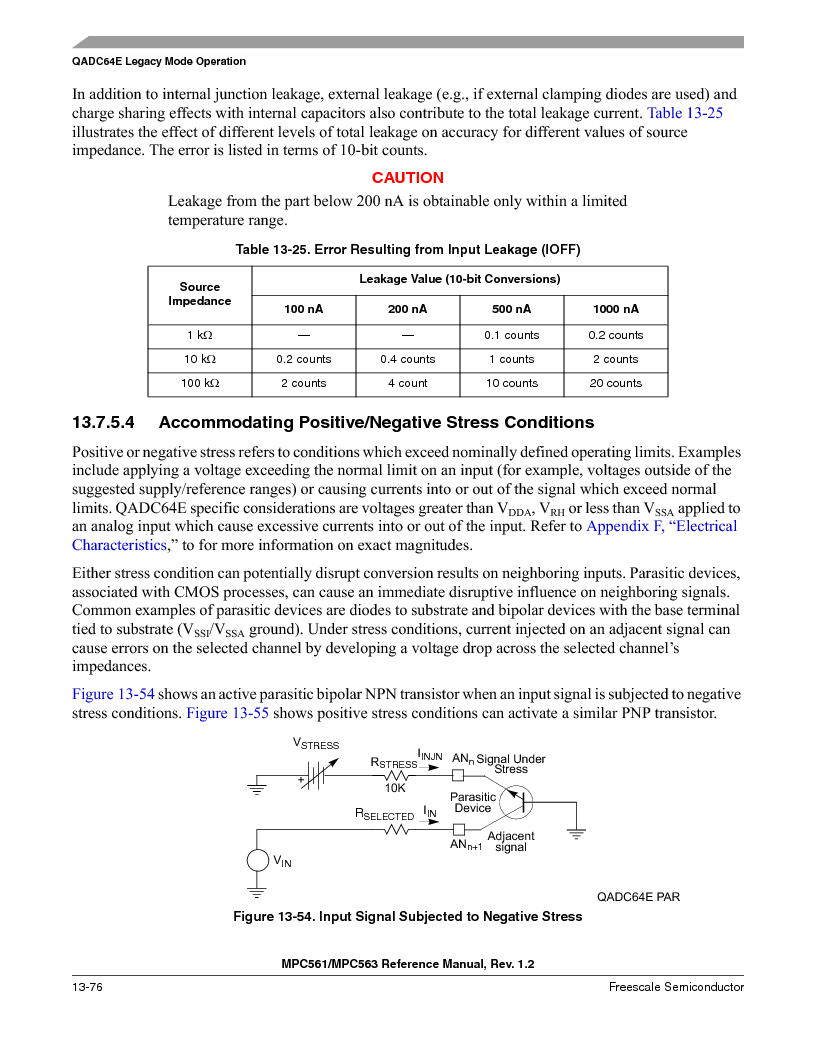 MPC563MZP56 ,Freescale Semiconductor厂商,IC MCU 512K FLASH 56MHZ 388-BGA, MPC563MZP56 datasheet预览  第540页