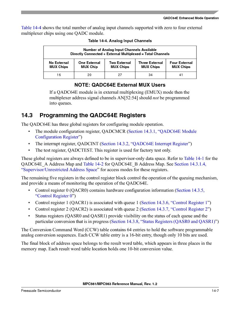 MPC563MZP56 ,Freescale Semiconductor厂商,IC MCU 512K FLASH 56MHZ 388-BGA, MPC563MZP56 datasheet预览  第549页