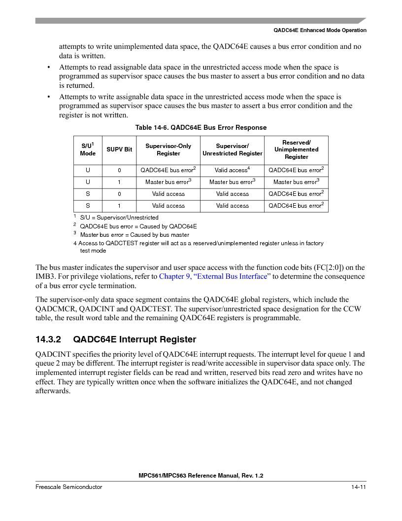 MPC563MZP56 ,Freescale Semiconductor厂商,IC MCU 512K FLASH 56MHZ 388-BGA, MPC563MZP56 datasheet预览  第553页