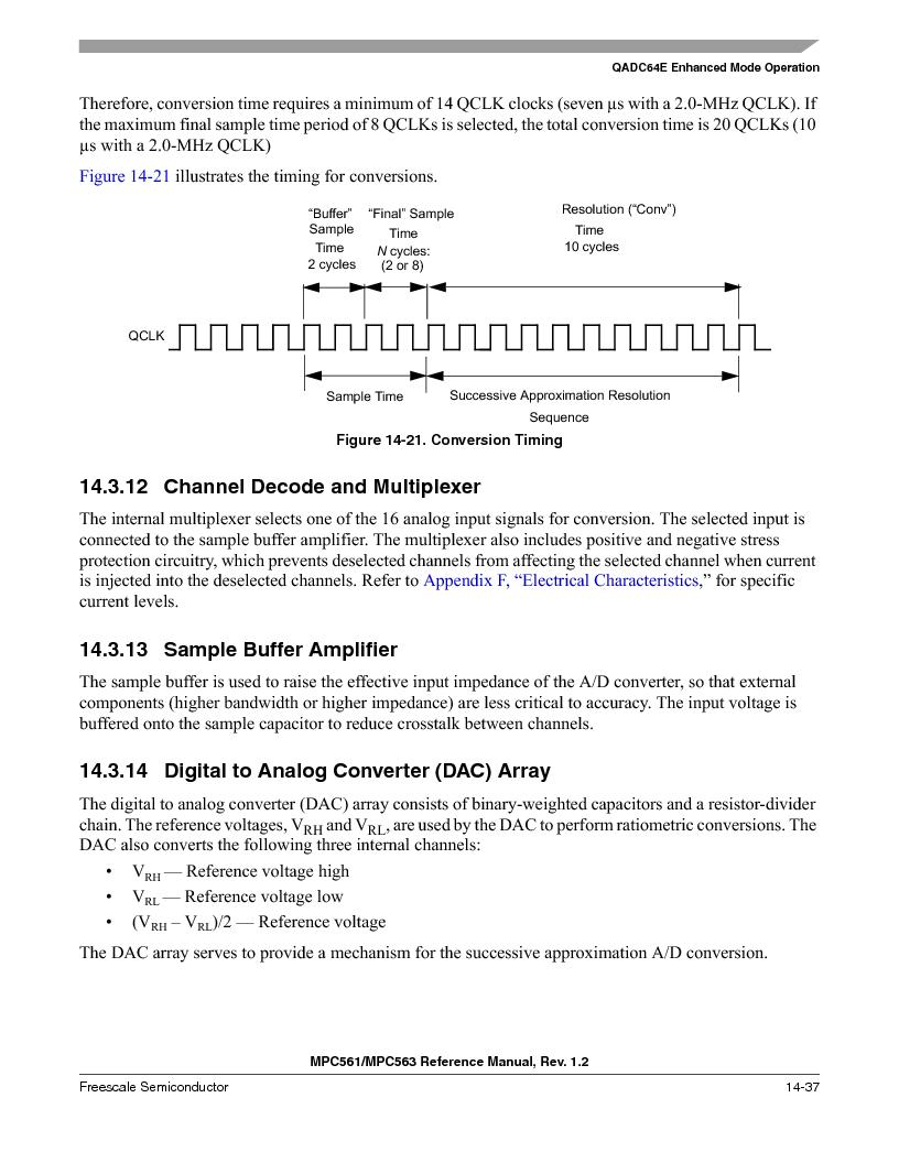 MPC563MZP56 ,Freescale Semiconductor厂商,IC MCU 512K FLASH 56MHZ 388-BGA, MPC563MZP56 datasheet预览  第579页