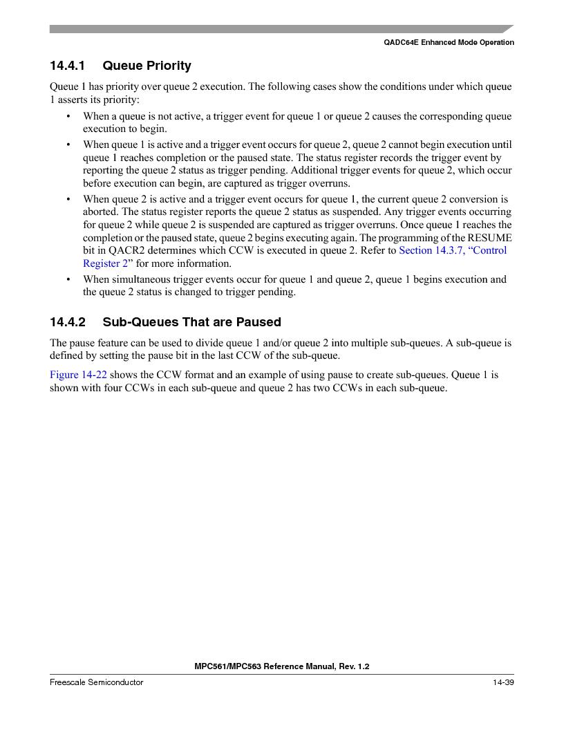 MPC563MZP56 ,Freescale Semiconductor厂商,IC MCU 512K FLASH 56MHZ 388-BGA, MPC563MZP56 datasheet预览  第581页