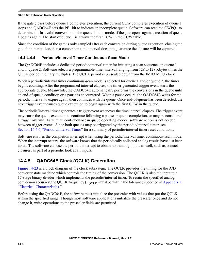 MPC563MZP56 ,Freescale Semiconductor厂商,IC MCU 512K FLASH 56MHZ 388-BGA, MPC563MZP56 datasheet预览  第590页
