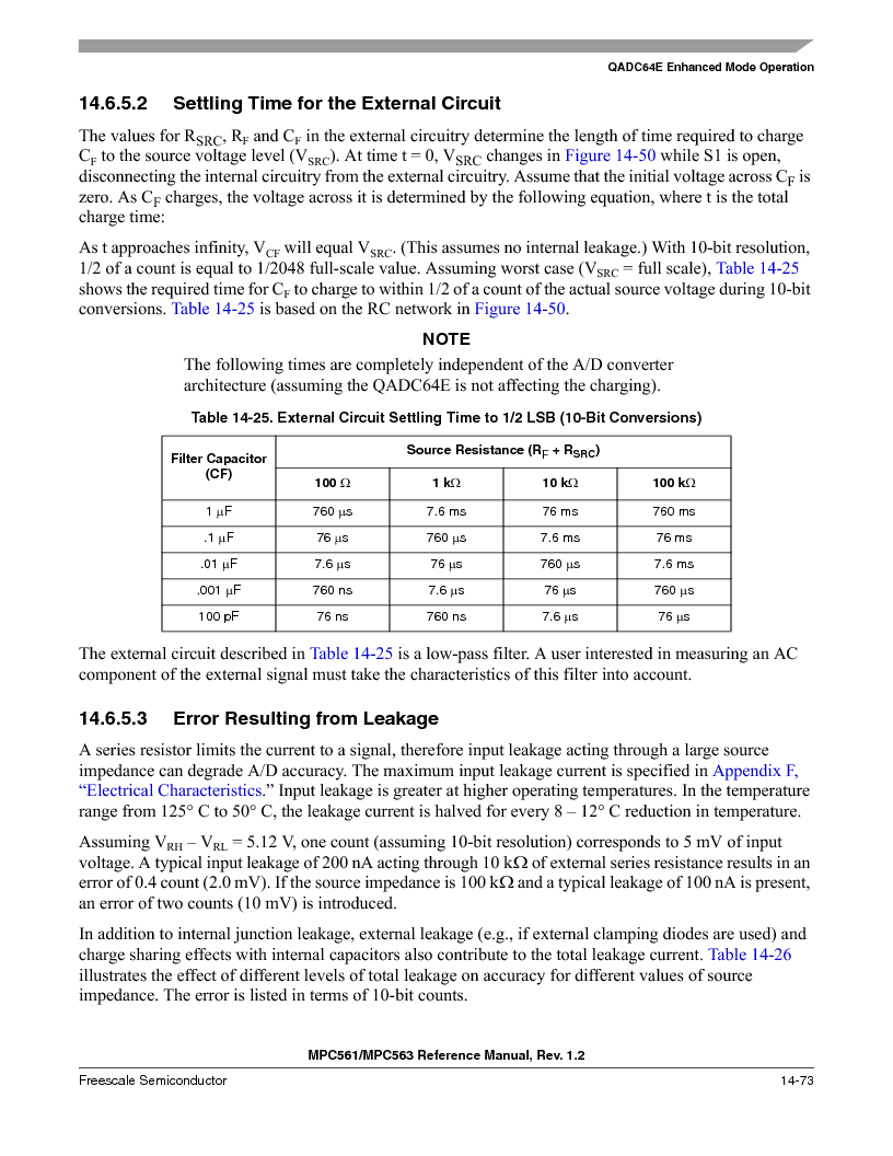 MPC563MZP56 ,Freescale Semiconductor厂商,IC MCU 512K FLASH 56MHZ 388-BGA, MPC563MZP56 datasheet预览  第615页
