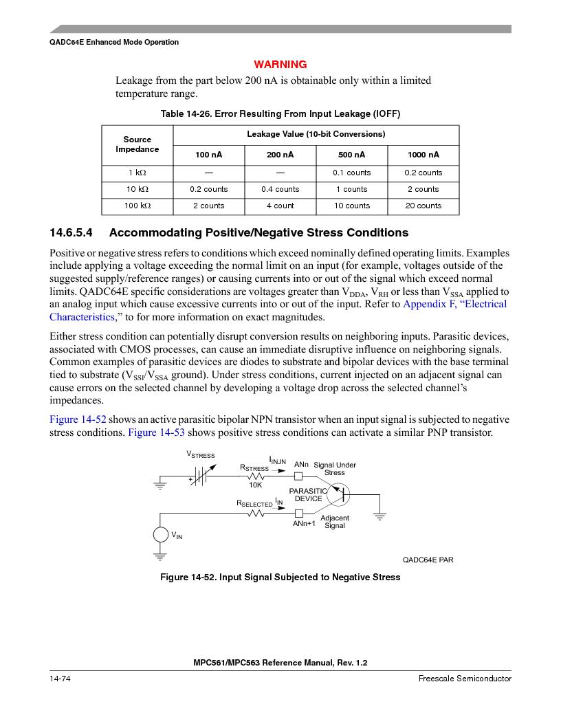 MPC563MZP56 ,Freescale Semiconductor厂商,IC MCU 512K FLASH 56MHZ 388-BGA, MPC563MZP56 datasheet预览  第616页