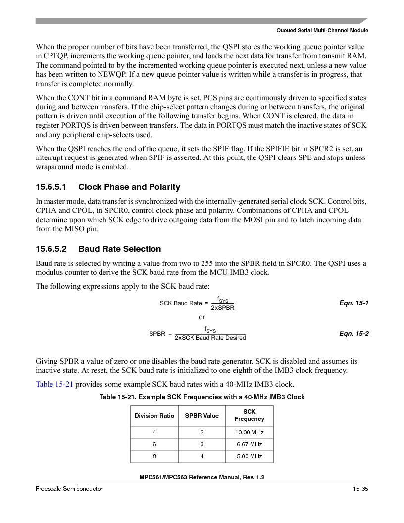 MPC563MZP56 ,Freescale Semiconductor厂商,IC MCU 512K FLASH 56MHZ 388-BGA, MPC563MZP56 datasheet预览  第653页
