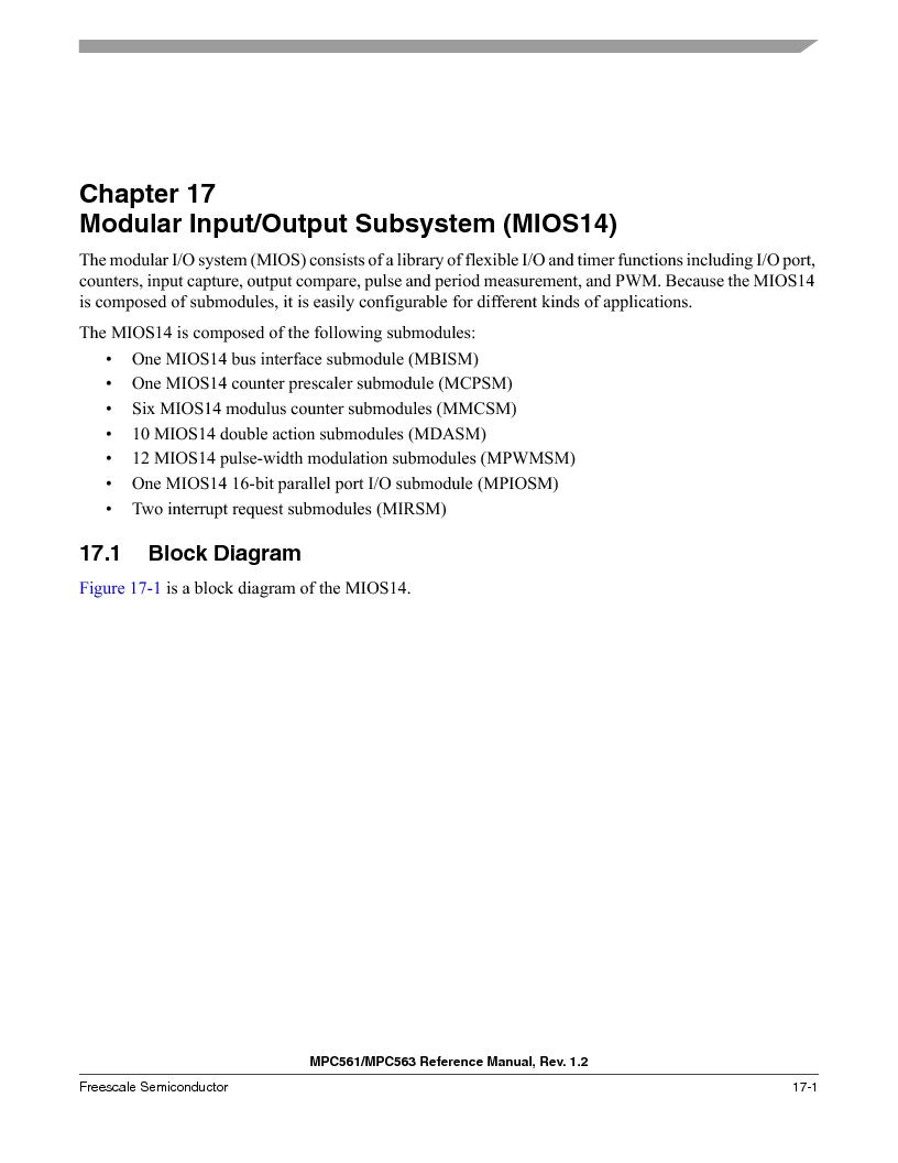 MPC563MZP56 ,Freescale Semiconductor厂商,IC MCU 512K FLASH 56MHZ 388-BGA, MPC563MZP56 datasheet预览  第733页