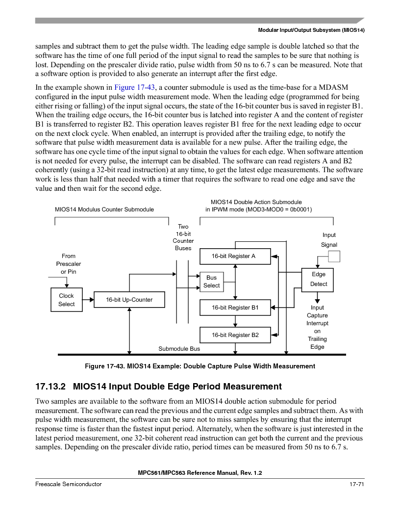 MPC563MZP56 ,Freescale Semiconductor厂商,IC MCU 512K FLASH 56MHZ 388-BGA, MPC563MZP56 datasheet预览  第803页